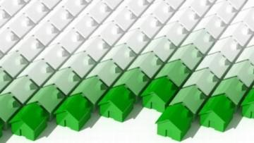 Nuova edilizia residenziale: calo del 40,4%