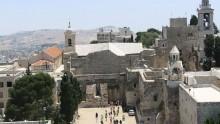 Il tetto della Nativita' a Betlemme restaurato da una ditta italiana