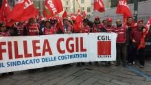 Rinnovo del Ccnl edilizia, alta la partecipazione allo sciopero