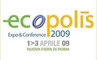 ECOPOLIS: dall'1 al 3 aprile 2009 il futuro delle città in mostra a Roma