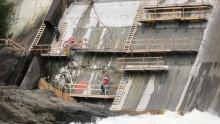 Ripristino e manutenzione degli sbarramenti in calcestruzzo delle dighe