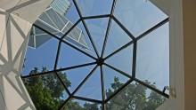 Le tettoie in vetro