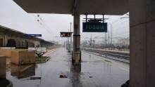 Lavori lungo la ferrovia Foggia-Potenza