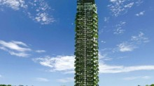 Il grattacielo piu' verde dello Sri Lanka: le Clearpoint Residencies