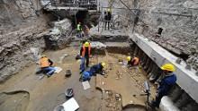Un cimitero del V secolo d.C. scoperto sotto i Nuovi Uffizi