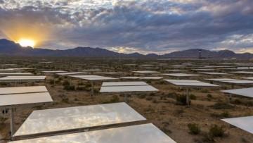 La piu' grande centrale solare al mondo e' in funzione in Nevada