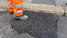 Milano sperimenta il 'super-asfalto' a reazione meccanica