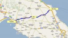 Lavori di adeguamento per l'Anas sulla Taranto-Grottaglie