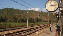 Opere civili presso le stazioni di Montemaggiore Belsito, Villarosa e Villalba
