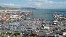 Lavori al Porto di Salerno