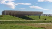 Una facciata bioclimatica per uno stabilimento in Umbria