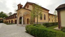 Il restauro conservativo di Borgo Vione a sud di Milano