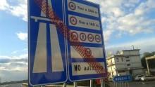 Lavori di messa in sicurezza stradale in Calabria
