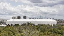 Lo stadio 'sostenibile' nella foresta tropicale di Brasile 2014