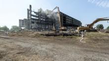L'ecomostro demolito lascia spazio a 265mila mq di verde