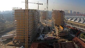 I permessi di costruire calano di un terzo