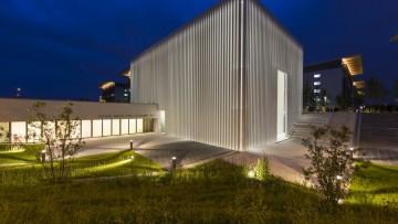 Cemento bianco per il 'velario' della nuova chiesa dell'ospedale San Giovanni XXIII