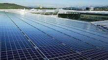 Il nuovo parco fotovoltaico di Cavriglia sorge sull'ex miniera di carbone