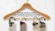 Caesar 'veste' gli store della moda italiana e internazionale