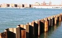 Palancole in acciaio per la protezione dalle inondazioni