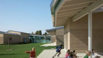 Il polo per l'infanzia Lama Sud a Ravenna e' 'green'