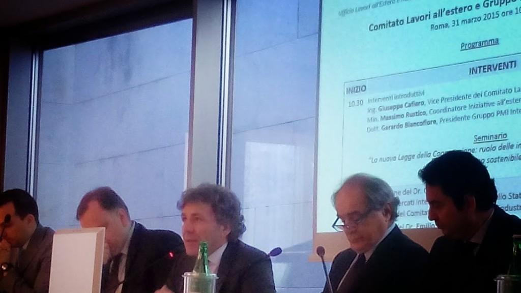 Gerardo Biancofiore,  Presidente PMI Internazionale dell'ANCE Associazione Nazionale Costruttori Edili e Presidente di ANCE Foggia