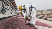 Completata la bonifica ad alta quota delle coperture in amianto della Franco Tosi