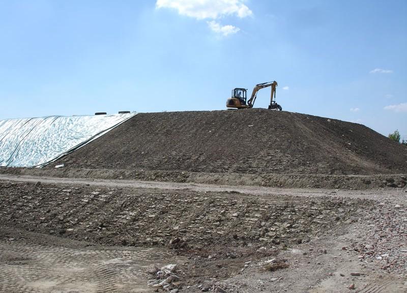 materiali escavati