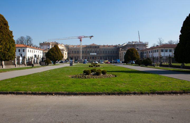 Il ripristino della copertura della villa Reale di Monza